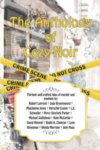 The Anthology of Cozy-Noir - Front Cover - Authors