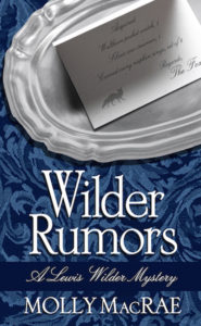 Wilder Rumors Front Cover